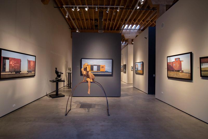 Exhibition Stand Galleries : Evoke contemporary art gallery in santa fe nm